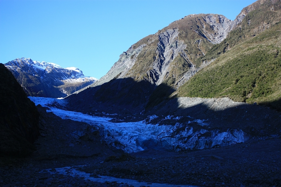 Fox Glacier, Westland National Park, West Coast, South Island, New Zealand