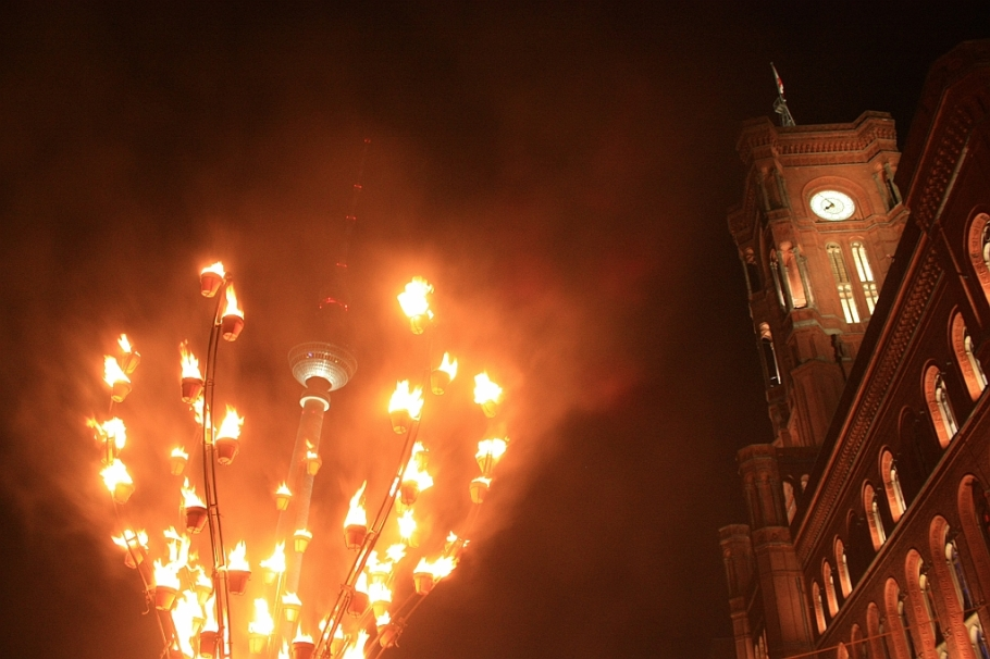775th anniversary, Nikolaiviertel, Berlin, Germany - 28 Oct 2012