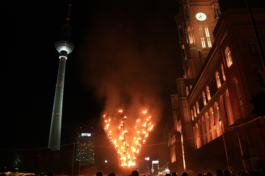 775th anniversary, Nikolaiviertel, Berlin, Germany