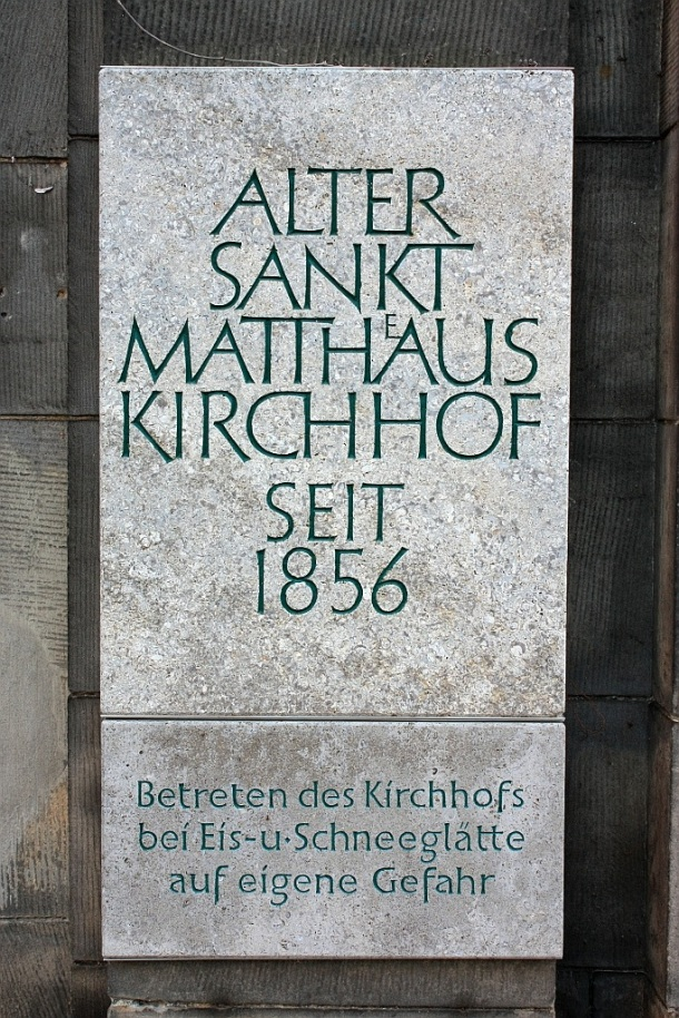 Alter St.-Matthäus-Kirchhof, Schöneberg, Berlin, Germany