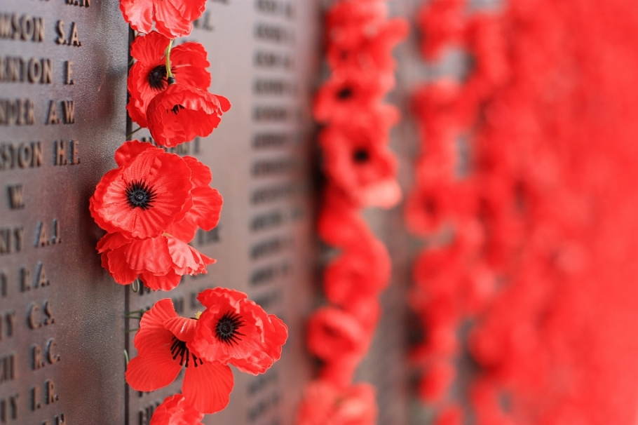 Roll of honour, west, Australian War Memorial, Canberra, ACT, Australia