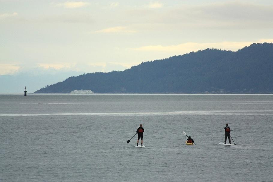 Georgia Strait, Vancouver, BC, Canada