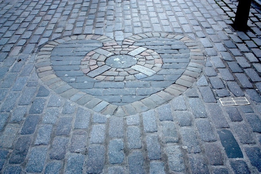 Heart of Midlothian, Tolbooth, Parliament Square West, High Street, Royal Mile, Edinburgh, Scotland