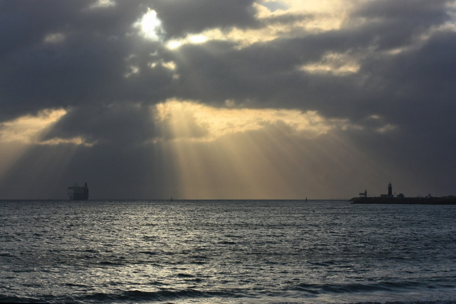 Indian Ocean, South Mole Lighthouse, Fremantle, Perth, WA, Australia, myRTW, fotoeins.com