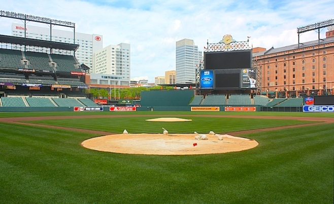 Baltimore Orioles, Oriole Park, Camden Yards, Baltimore