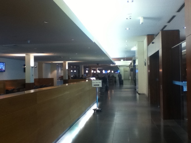 Qantas Club Lounge, Melbourne Airport