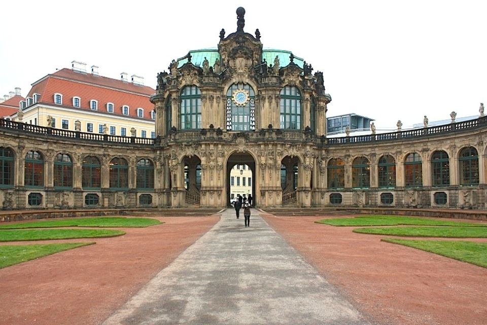 Glockenspielpavilion, Zwinger, Dresden, Germany