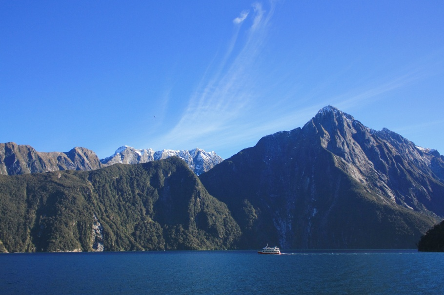 Milford Sound, Fiordland National Park, Southland, South Island, New Zealand - 25 July 2012