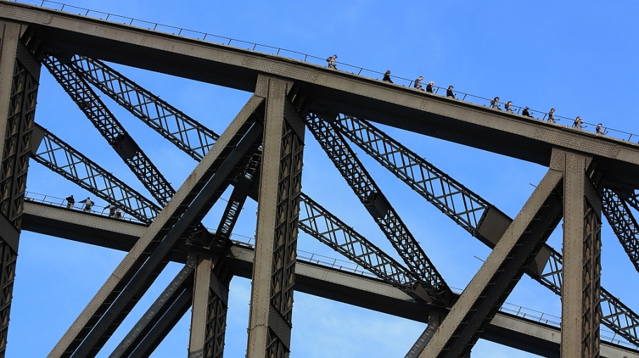 The Coathanger, Sydney Harbour Bridge, Sydney, Australia