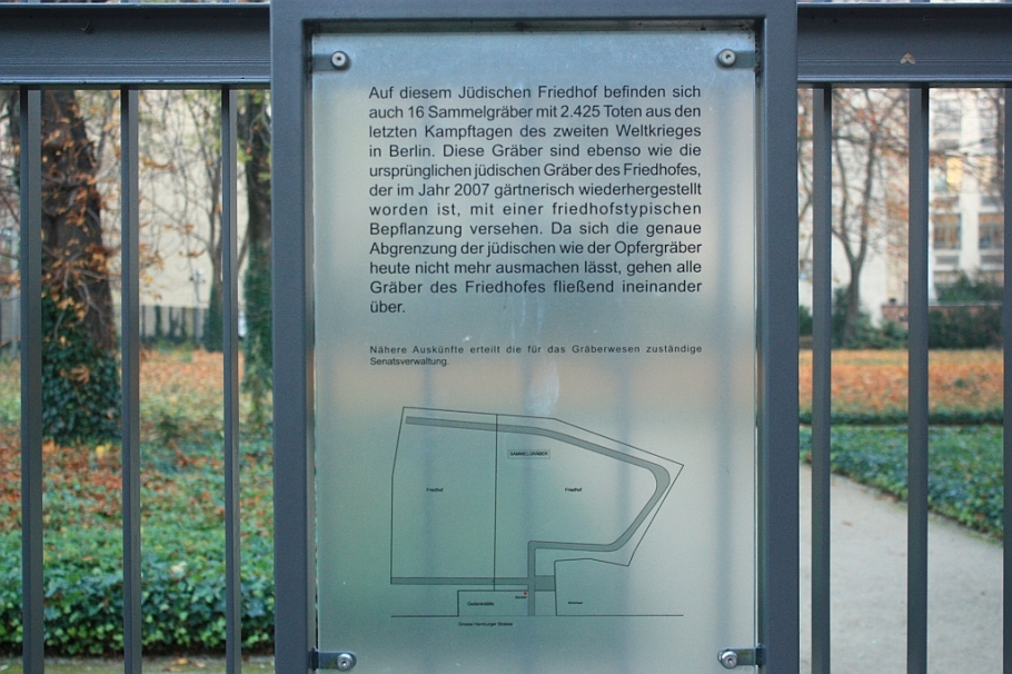 Old Jewish Cemetery, Grosse Hamburger Strasse, Berlin, Germany, fotoeins.com