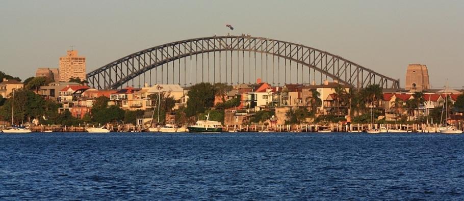 Parramatta River Ferry (east to Circular Quay), Sydney, Australia