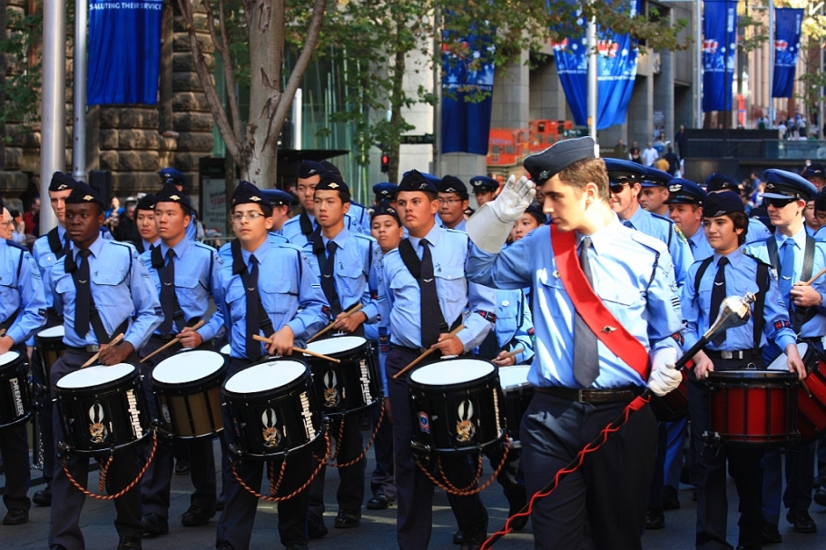 ANZAC Day, Sydney 2013