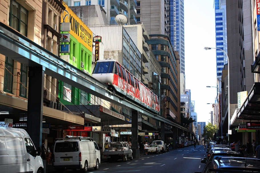 Metro Monorail, Sydney, Australia