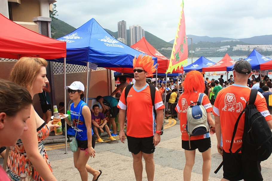 Sun Life Stanley Dragon Boat Championships : Stanley, Hong Kong
