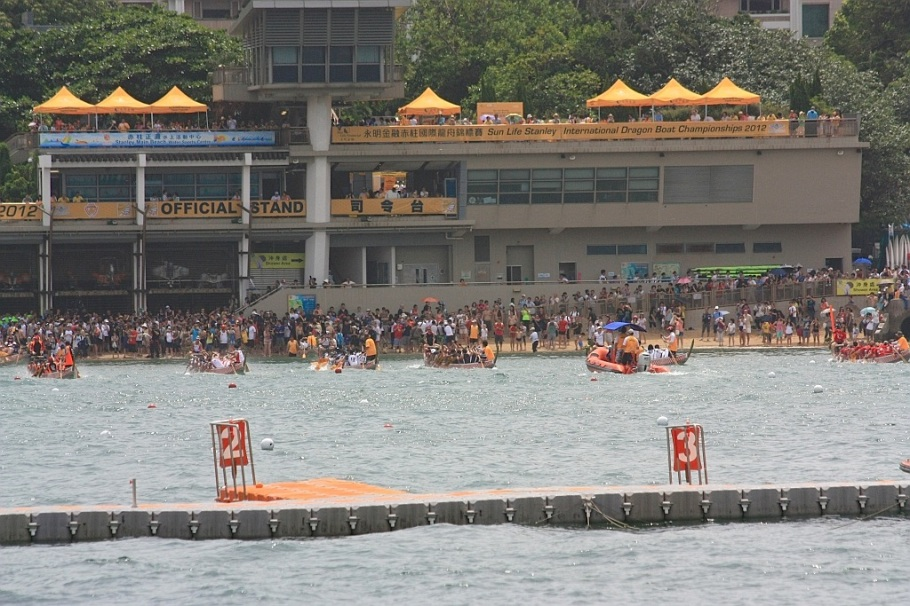 Sun Life Stanley Dragon Boat Championships : Stanley, Hong Kong - 23 Jun 2012
