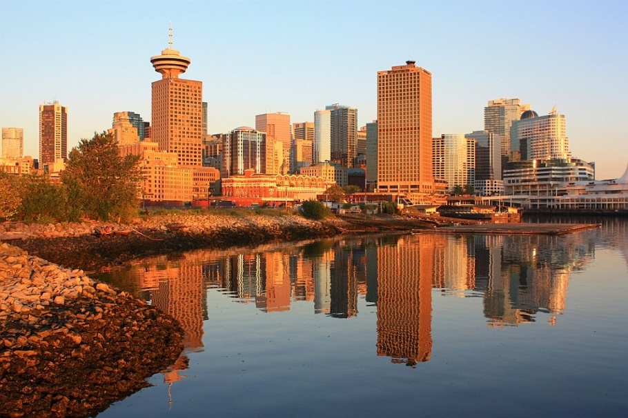 Portside Park, Vancouver, BC, Canada