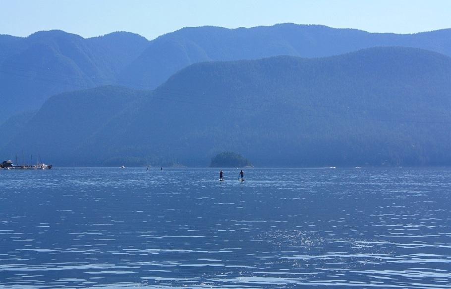 Burrard Inlet, Deep Cove, BC, Canada