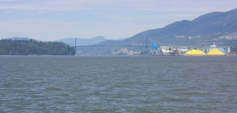 Burrard Inlet, Vancouver, BC, Canada