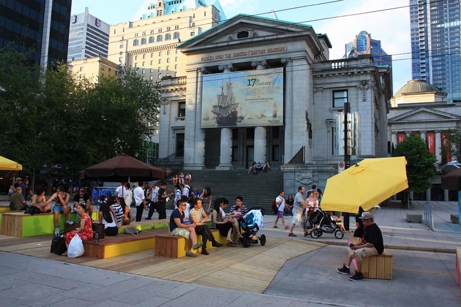 Robson Square, Vancouver, BC, Canada