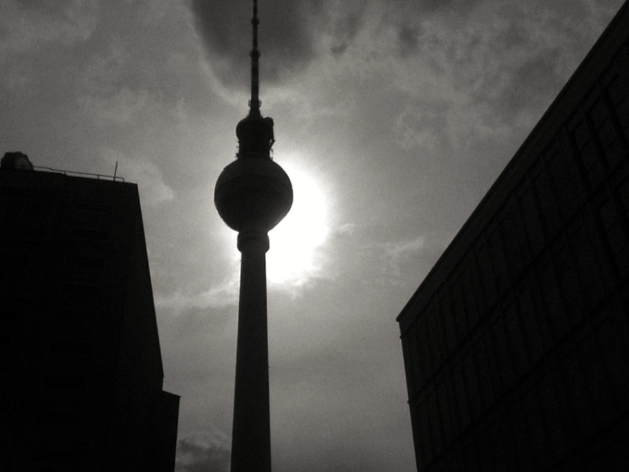 Fernsehturm (TV Tower) at Alexanderplatz, Berlin, Germany