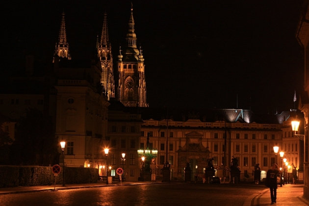 Hradcanske namesti (Castle Square), Prague Castle