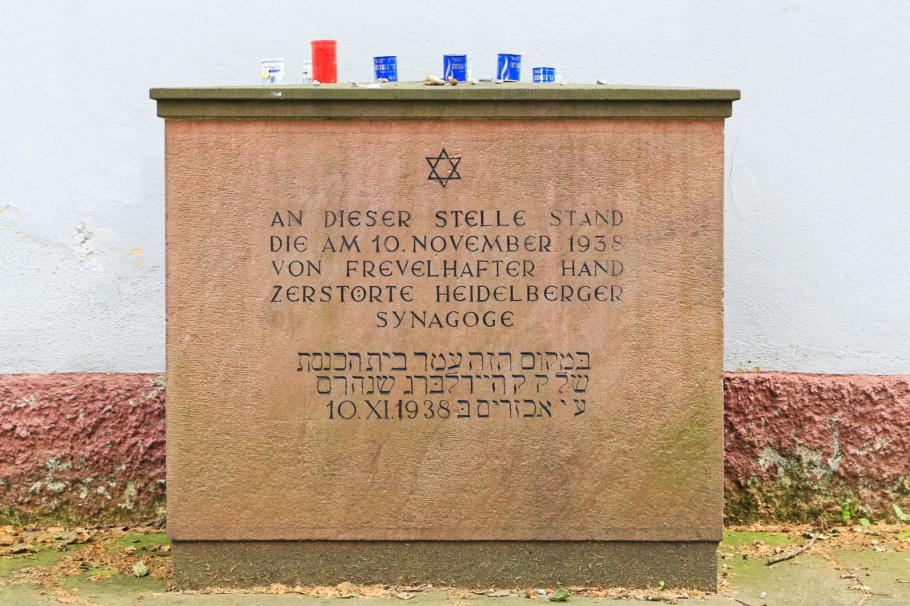 Alter Synagogenplatz, Altstadt, Heidelberg, Baden-Württemberg, Germany, fotoeins.com