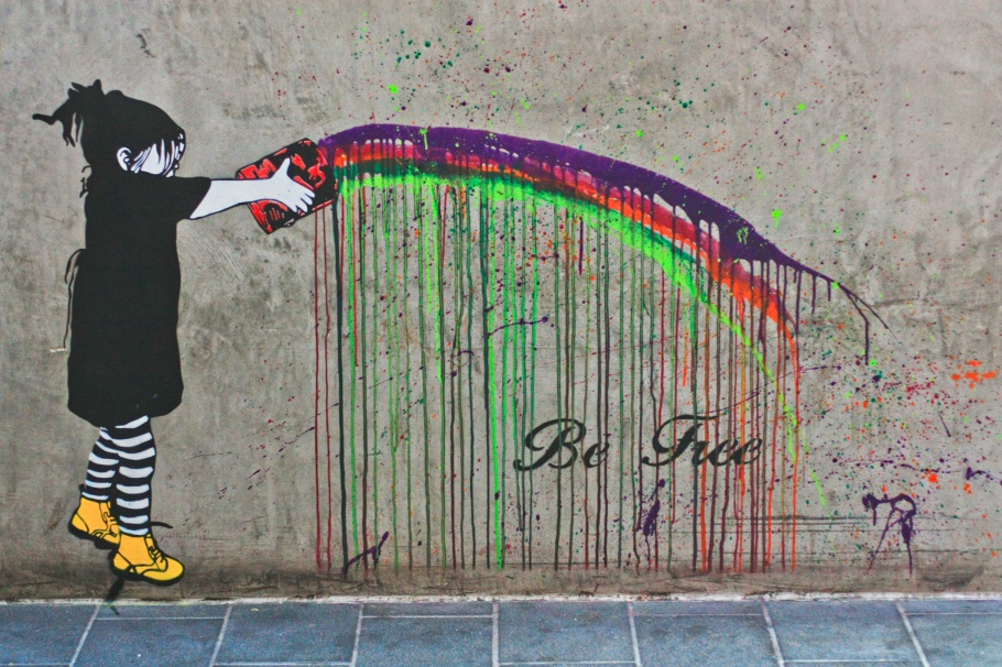 be free, Melbourne, Victoria, Australia, myRTW, fotoeins.com