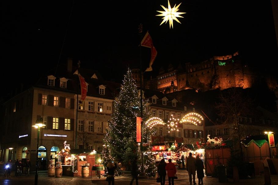 Kornmarkt, Heidelberg, Germany, fotoeins.com