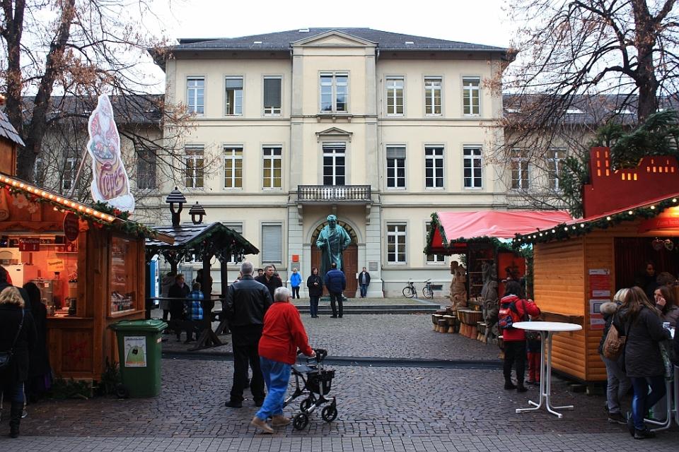 Anatomiegarten, Hauptstrasse, Heidelberg, Germany, fotoeins.com
