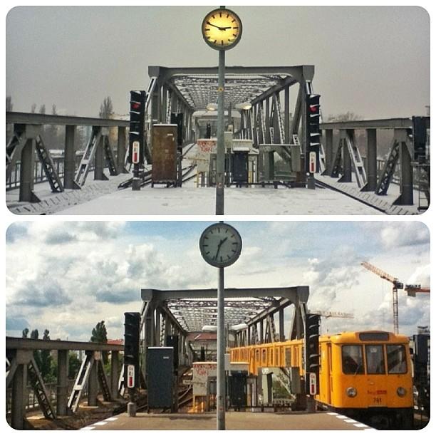 Gleisdreieck, BVG, U-Bahn, Berlin U-Bahn, Berlin, Germany, fotoeins.com