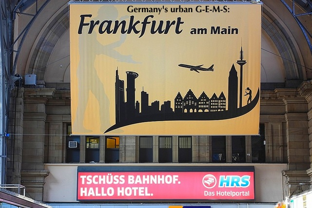 Frankfurt Hauptbahnhof, central train station, Frankfurt am Main, Germany, fotoeins.com