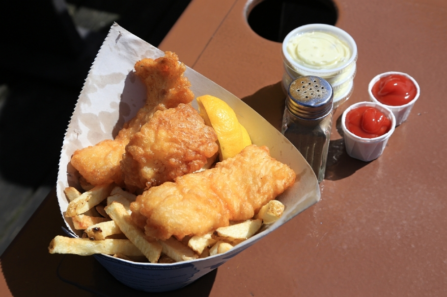 Pajo's Fish and Chips, Steveston, Richmond, BC, Canada