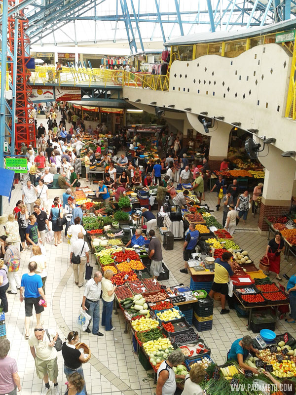 Budapest Lehel Market, AW packmeto.com