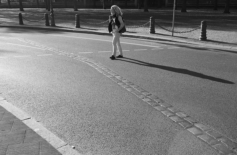 Former path of the Wall, Ebertstrasse, near Platz des 18. März, Brandenburger Tor, Berlin, Germany, fotoeins.com