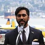 Naveen Girn, Komagata Maru memorial, Komagata Maru centenary, Vancouver, Canada