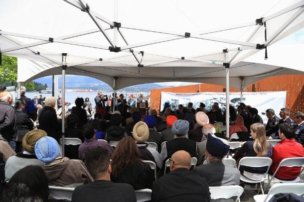 Komagata Maru memorial, Komagata Maru centenary, Vancouver, Canada