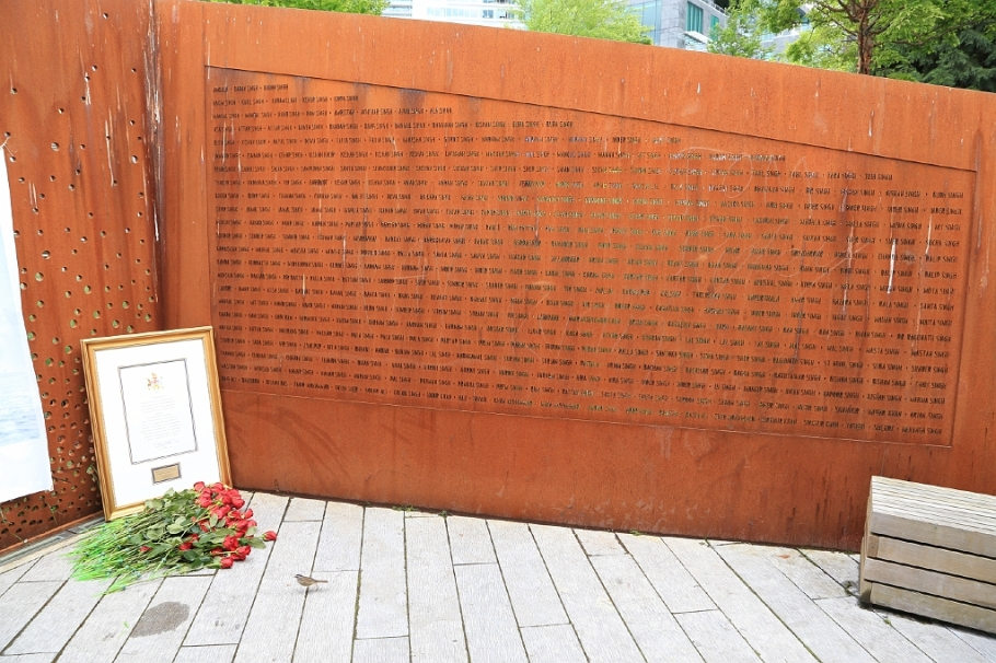 Komagata Maru Memorial, 100th anniversary : Vancouver, BC, Canada - 23 May 2014, fotoeins.com
