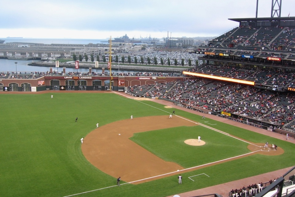 AT+T Park, San Francisco, CA, USA