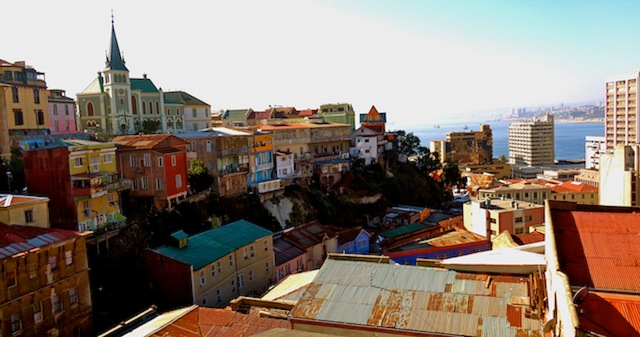 Valparaíso, Chile - by Aisha Mahmoud