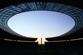 Olympiastadion, Berlin, Germany - 5 Dec 2012, fotoeins.com