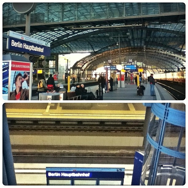 2nd floor above ground, 2nd floor below ground, Berlin Hauptbahnhof, Berlin Central Station