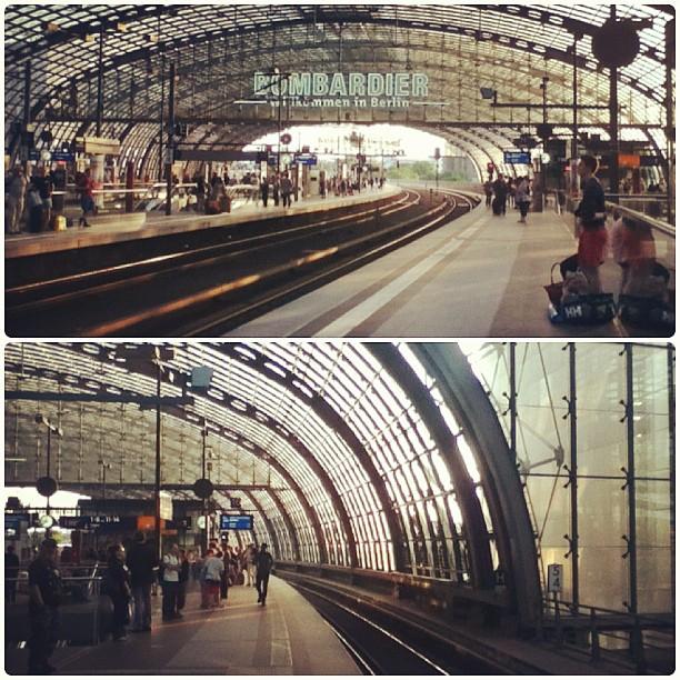 Welcome to Berlin, Berlin Hauptbahnhof, central train station, Berlin, Germany - 10 Aug 2013, fotoeins.com