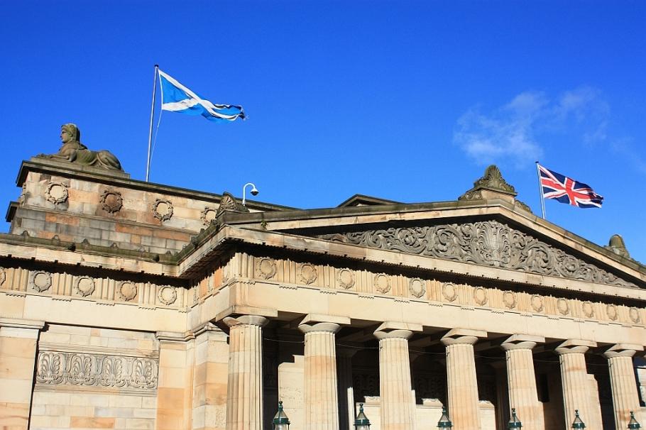 Royal Scottish Academy, The Mound, East Princes Street Gardens, Edinburgh, Scotland, fotoeins.com