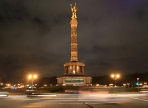 Siegessäule, Grosser Stern, Tiergarten, Berlin, Germany, fotoeins.com