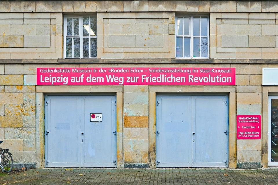 Friedriche Revolution, Peaceful Revolution, Leipzig, Saxony, Sachsen, Germany, Deutschland, fotoeins.com