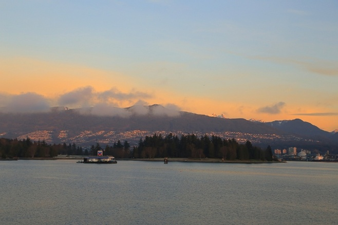 1st sunrise of 2015, Vancouver, BC, fotoeins.com
