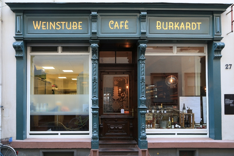 Cafe Burkardt, Heidelberger Altstadt, Germany, fotoeins.com