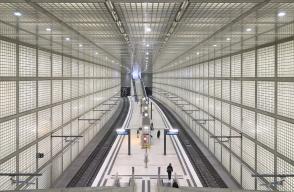 Wilhelm-Leuschner-Platz, City Tunnel, S-Bahn Mitteldeutschland, Leipzig, Germany, fotoeins.com
