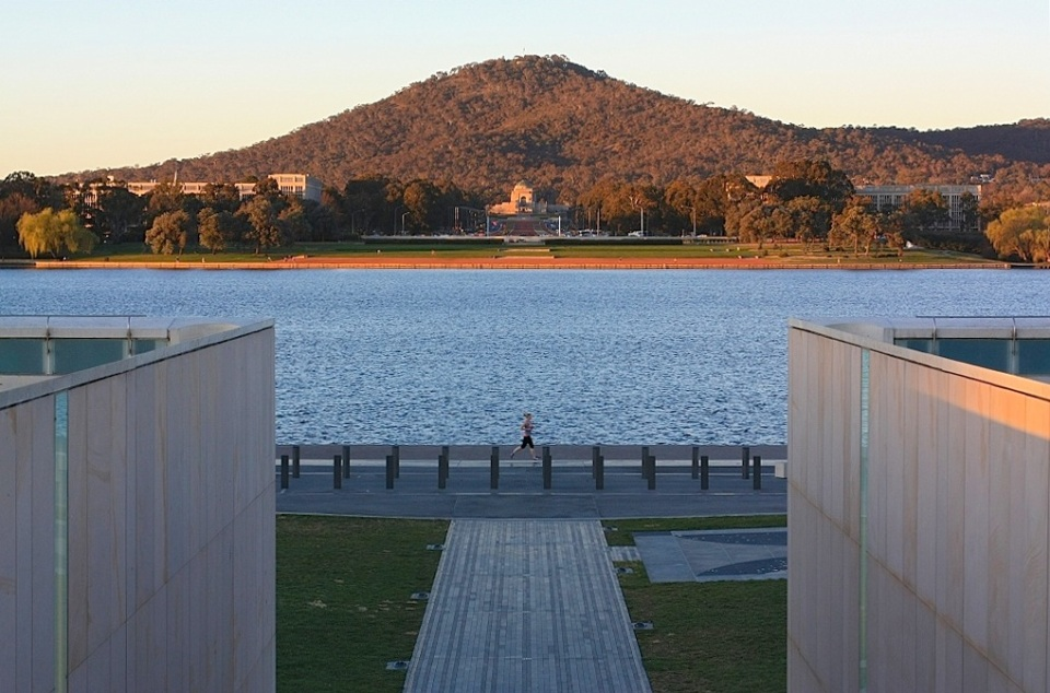 Commonwealth Place, Lake Burley Griffin, Australian War Memorial, Canberra, ACT, Australia, fotoeins.com
