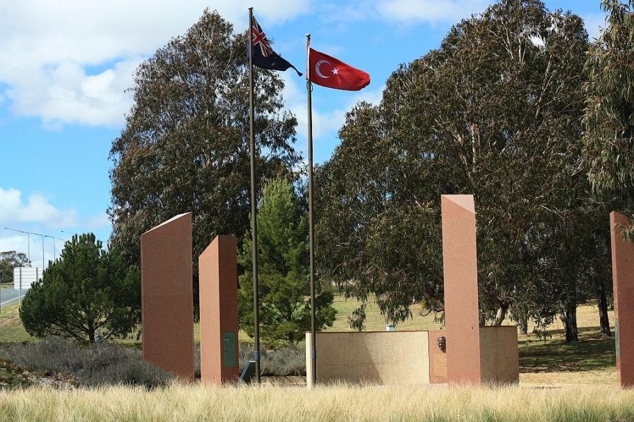 Atatürk Memorial Garden, ANZAC Park, Canberra, ACT, Australia, Gallipoli, Çanakkale, Turkey, fotoeins.com